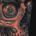 Tibetan Skull Tattoo Tattoo Design Thumbnail